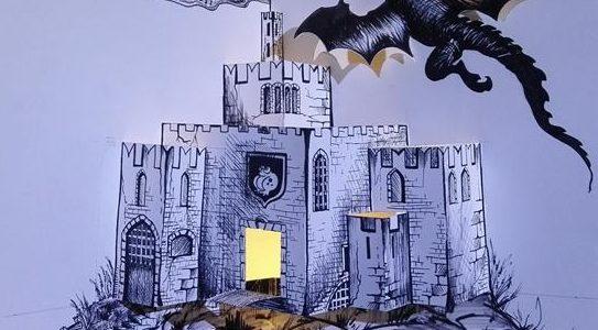 Il castello pop-up!