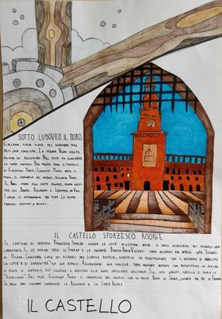 Castello sforzesco, sotto Ludovico il Moro