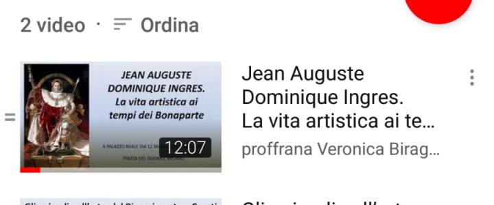 Sono su Youtube Anche con Mostre e Musei!
